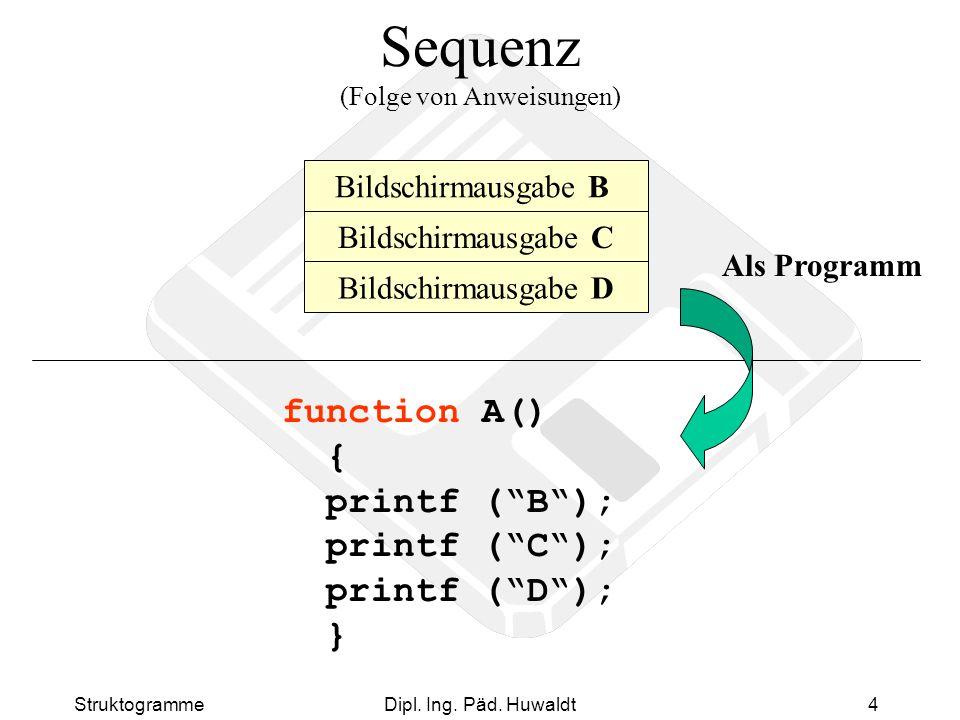 Sequenz (Folge von Anweisungen)