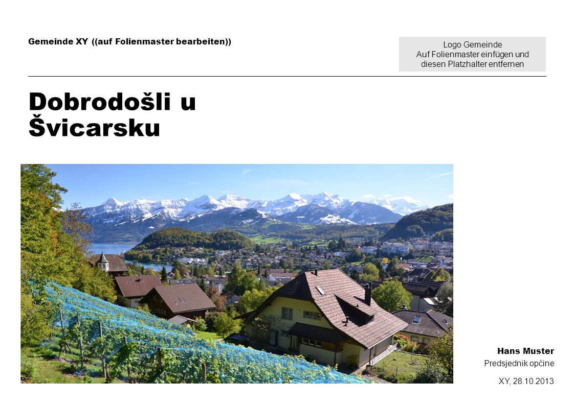 Dobrodošli u Švicarsku