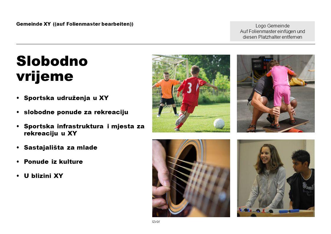 Slobodno vrijeme Sportska udruženja u XY slobodne ponude za rekreaciju