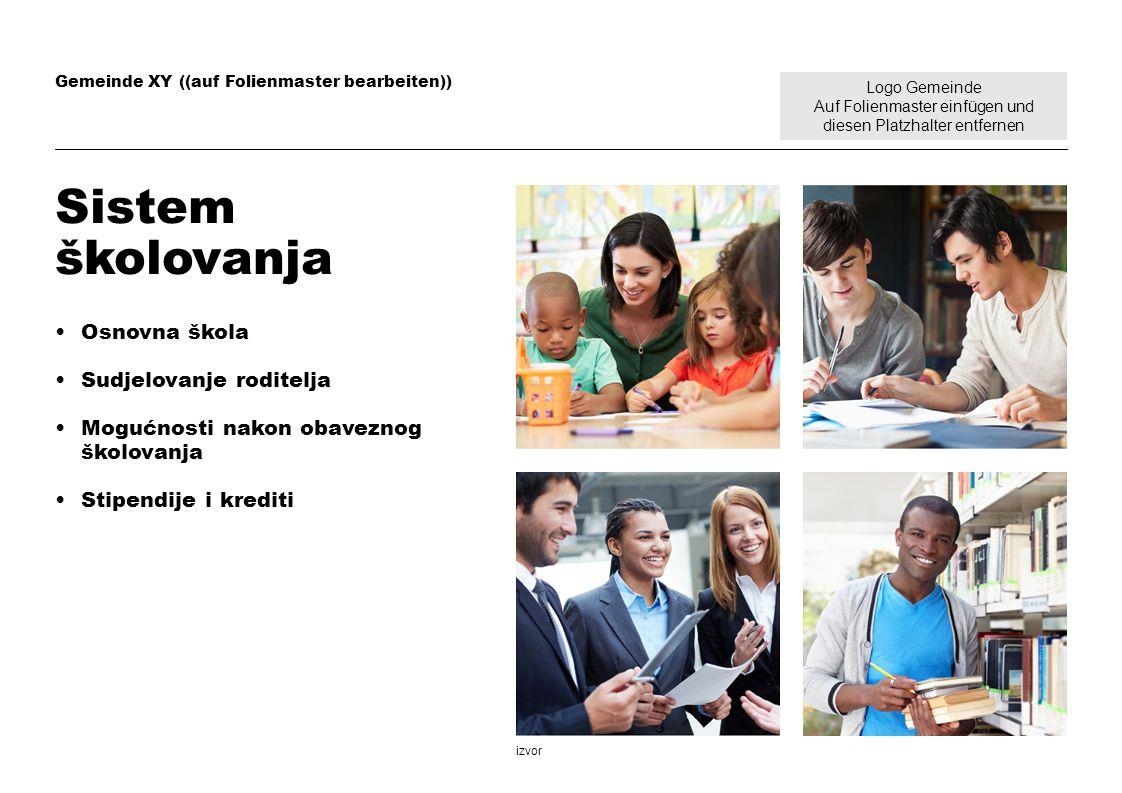 Sistem školovanja Osnovna škola Sudjelovanje roditelja