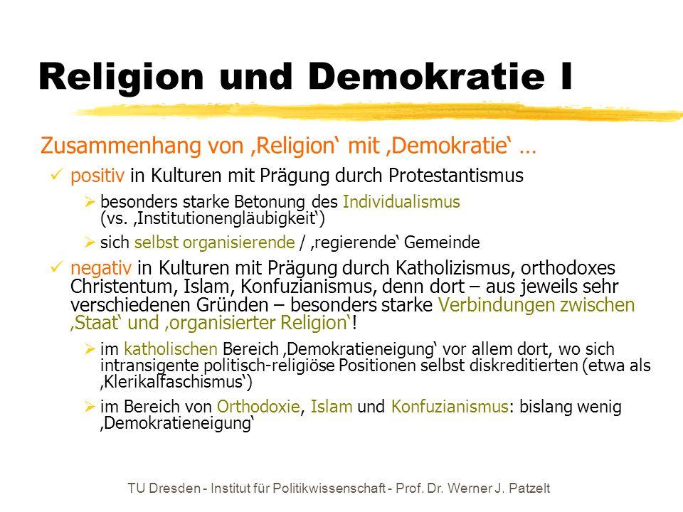Religion und Demokratie I