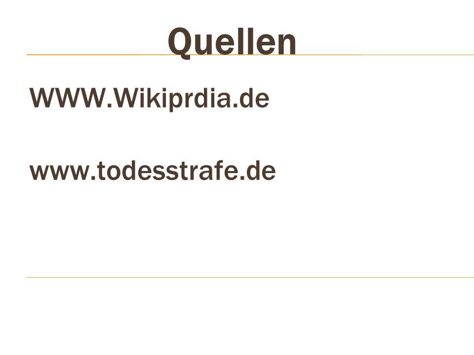 WWW.Wikiprdia.de www.todesstrafe.de