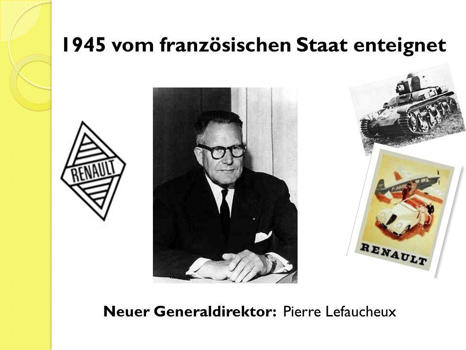 1945 vom französischen Staat enteignet
