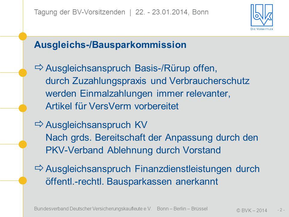 Ausgleichs-/Bausparkommission
