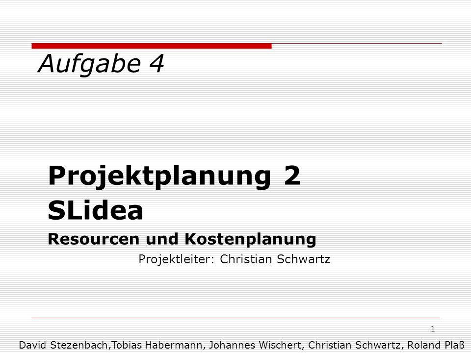 Projektleiter: Christian Schwartz