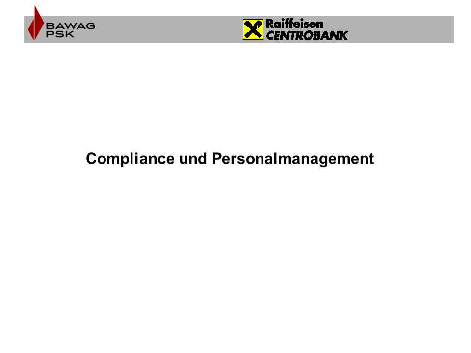 Compliance und Personalmanagement