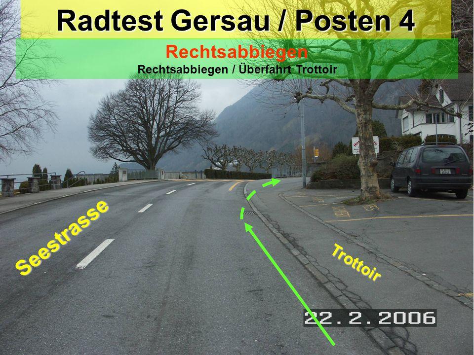 Radtest Gersau / Posten 4