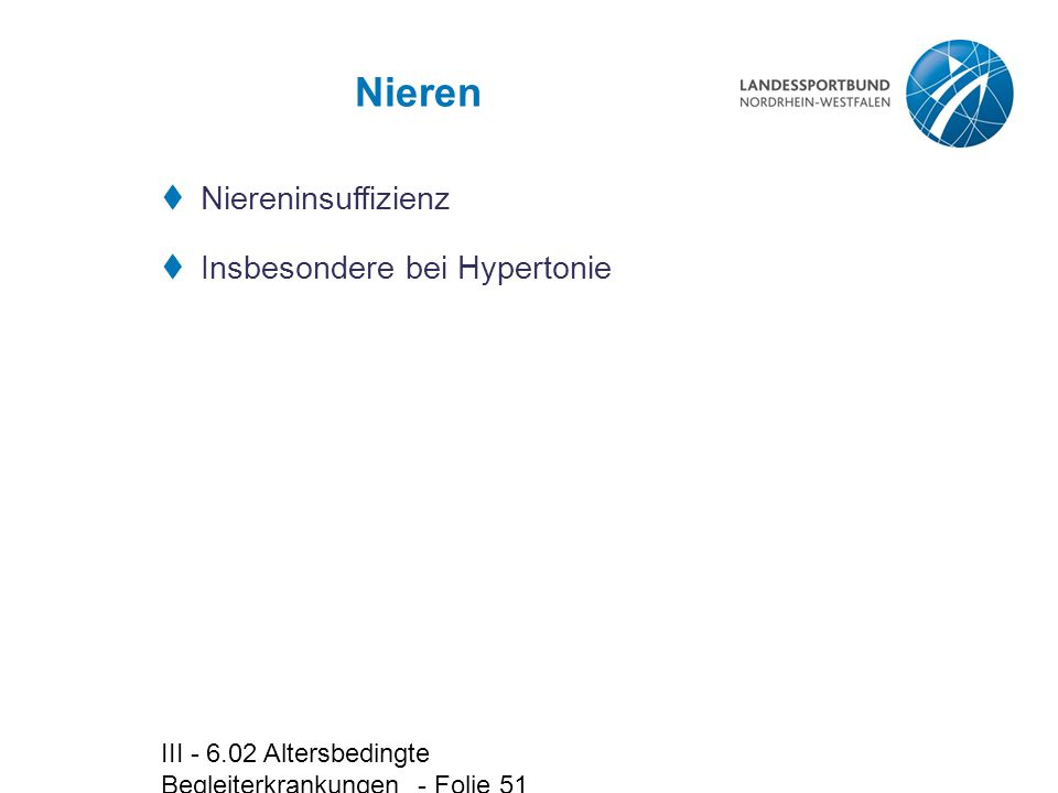 Nieren Niereninsuffizienz Insbesondere bei Hypertonie