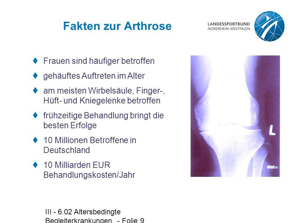 Fakten zur Arthrose Frauen sind häufiger betroffen
