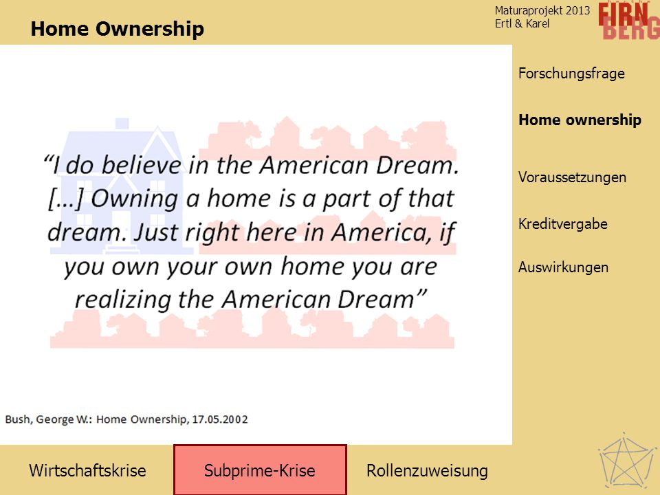 Home Ownership Home ownership