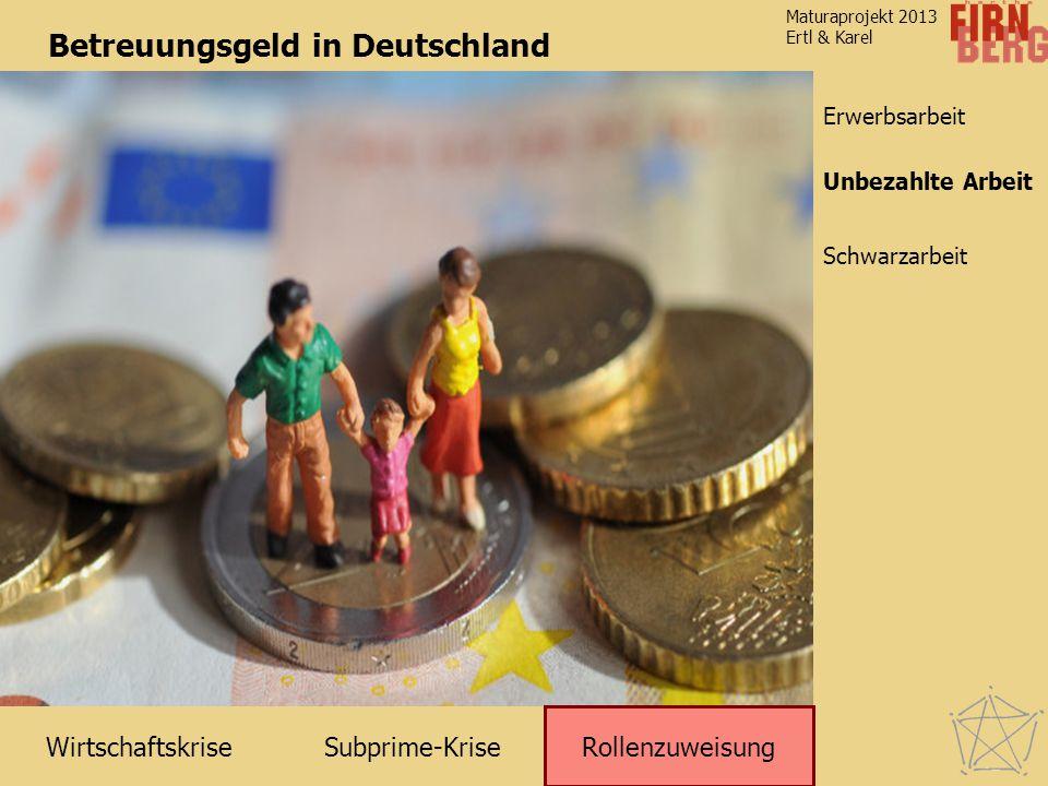 Betreuungsgeld in Deutschland
