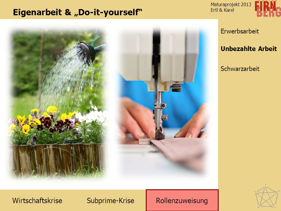 "Eigenarbeit & ""Do-it-yourself"