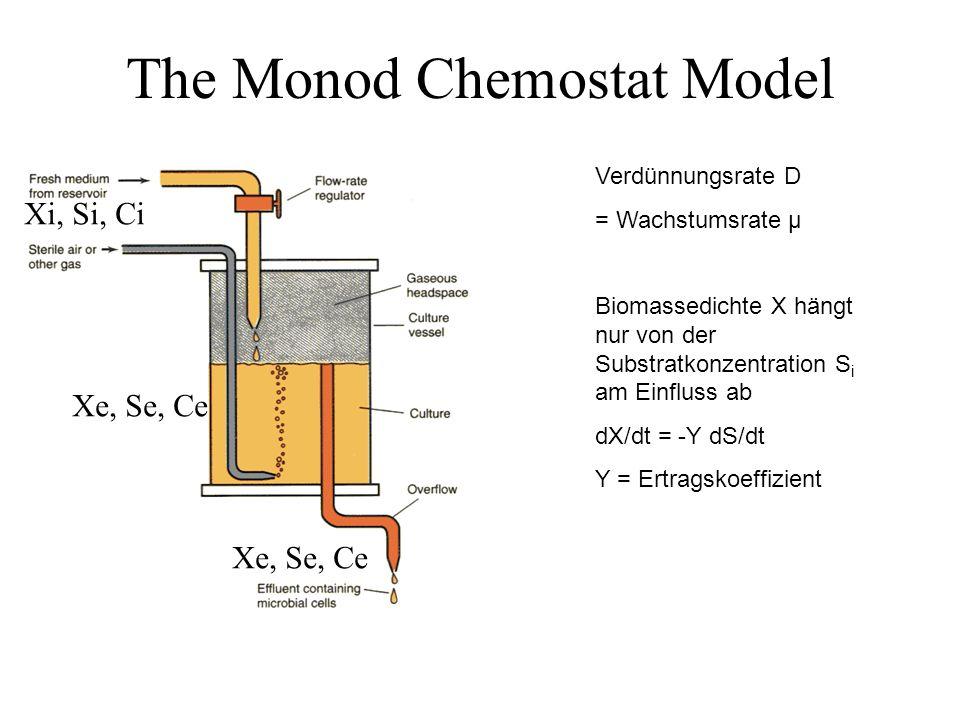 The Monod Chemostat Model