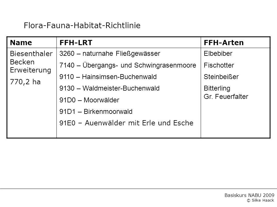 Flora-Fauna-Habitat-Richtlinie