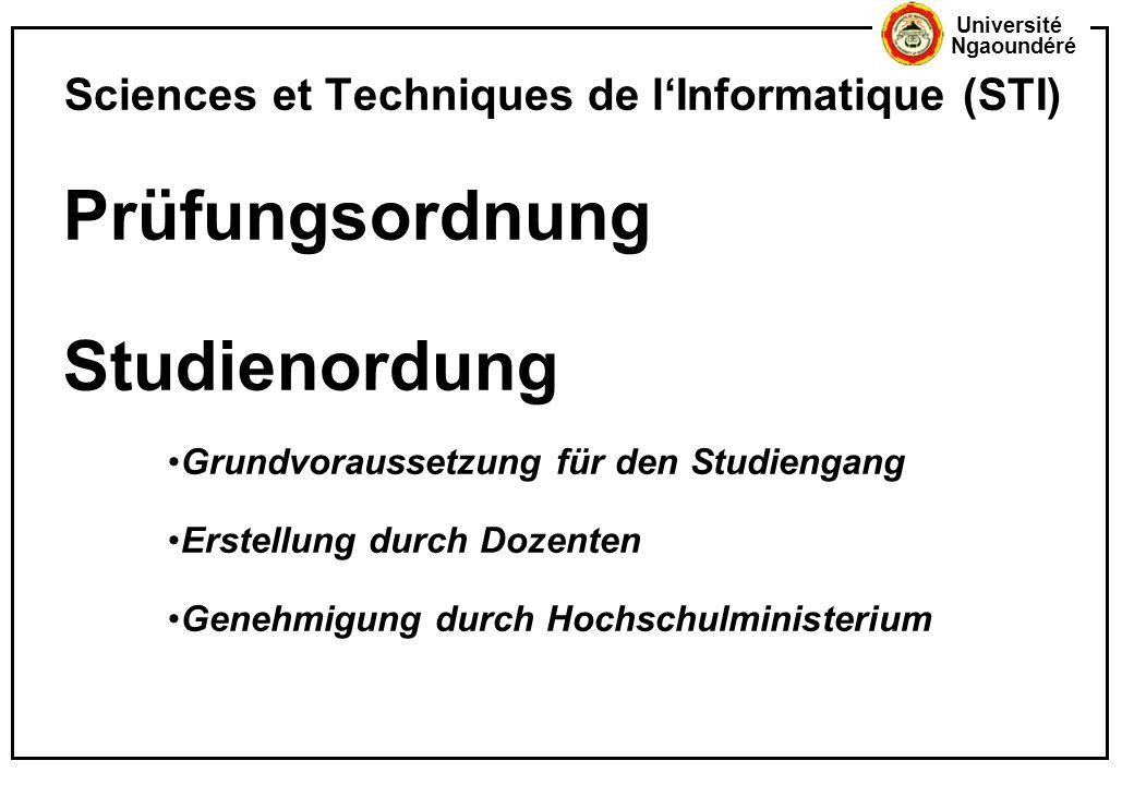 Sciences et Techniques de l'Informatique (STI)