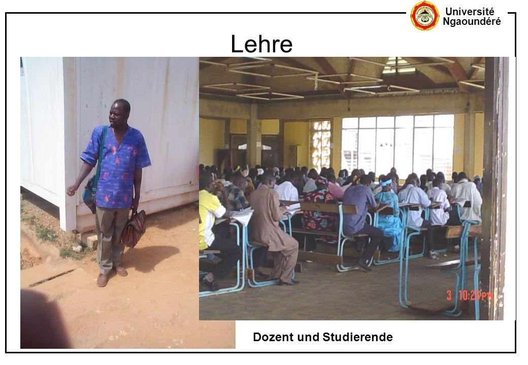 Lehre Dozent und Studierende