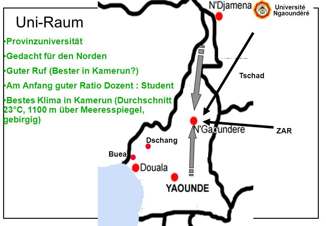 Uni-Raum Provinzuniversität Gedacht für den Norden