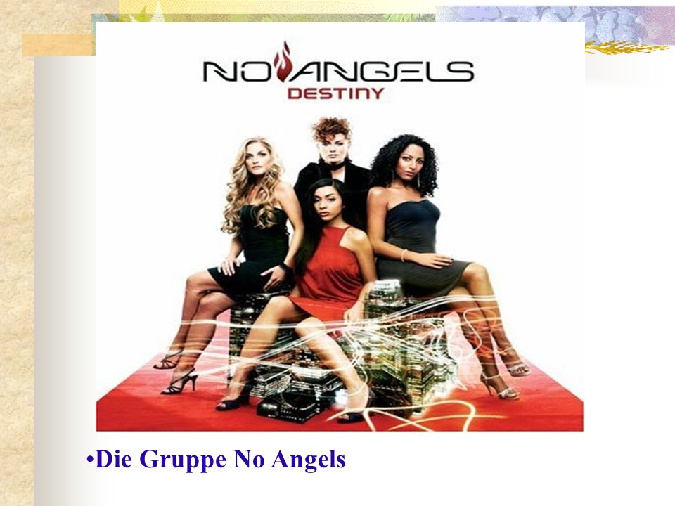 Die Gruppe No Angels