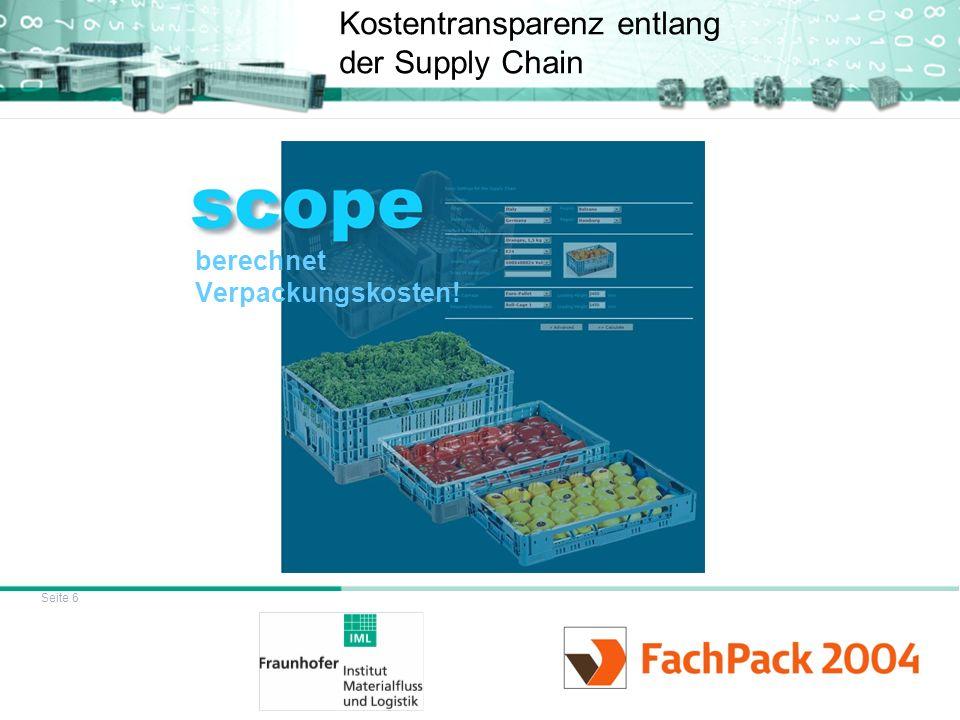 Kostentransparenz entlang der Supply Chain