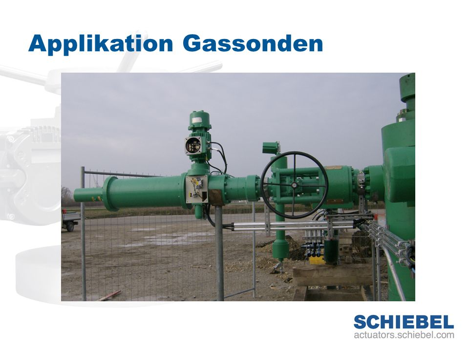 Applikation Gassonden