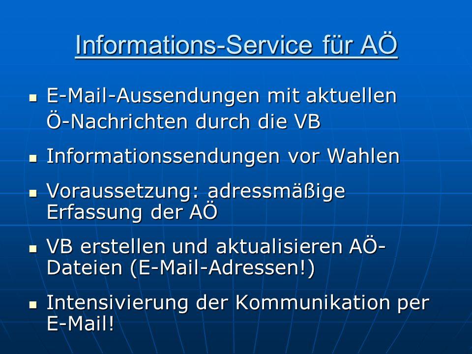 Informations-Service für AÖ