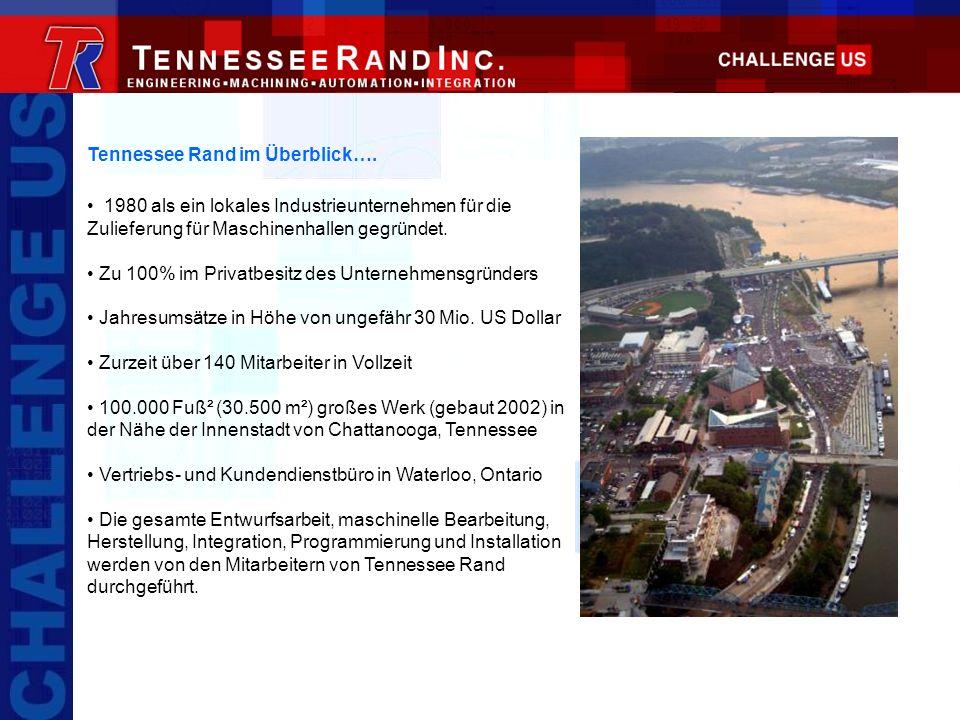 Tennessee Rand im Überblick….