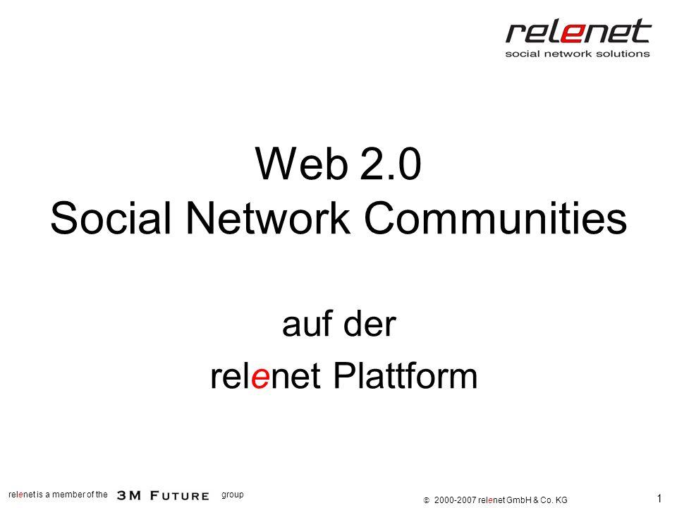 Web 2.0 Social Network Communities