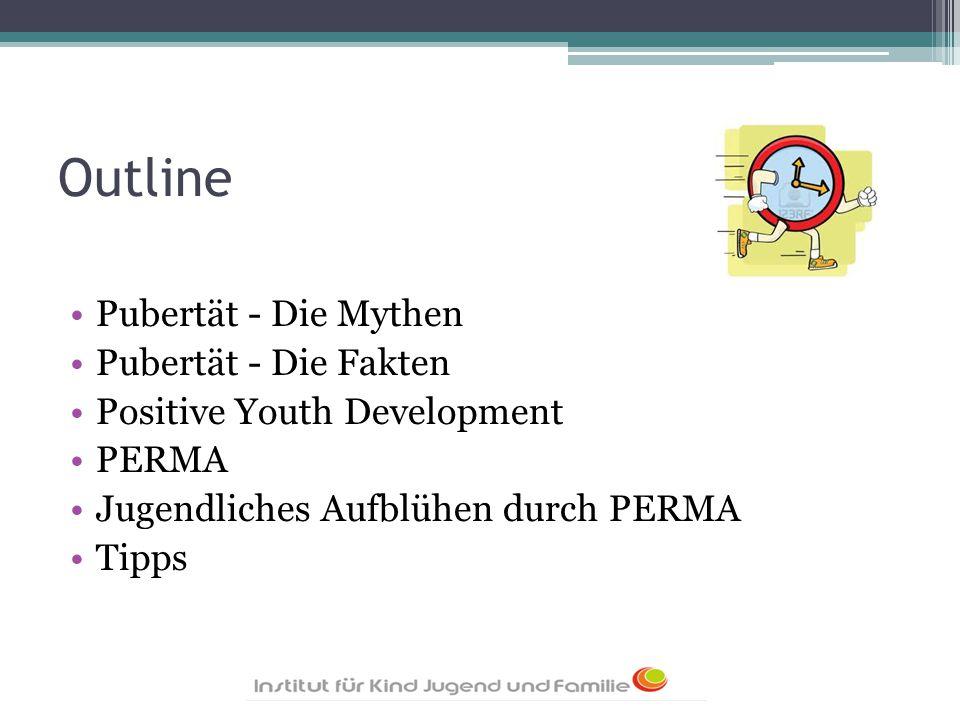 Outline Pubertät - Die Mythen Pubertät - Die Fakten