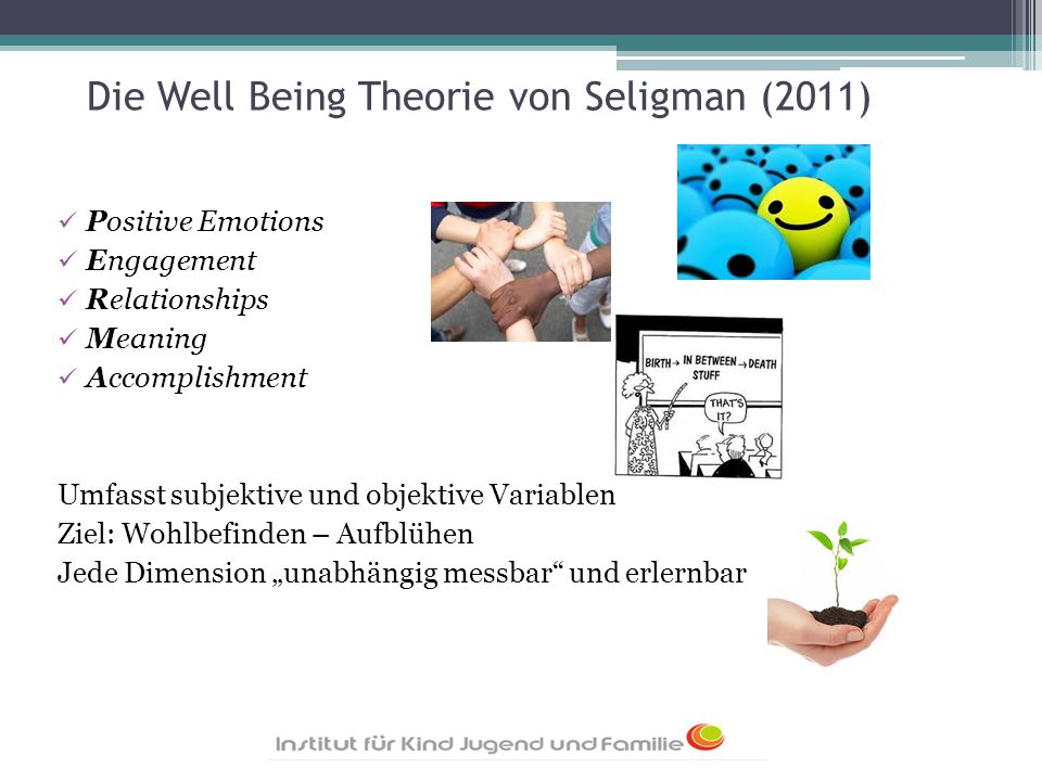 Die Well Being Theorie von Seligman (2011)