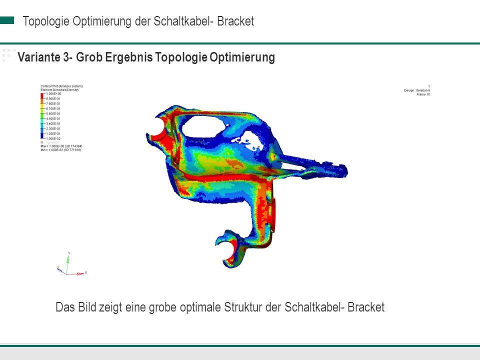 Variante 3- Grob Ergebnis Topologie Optimierung