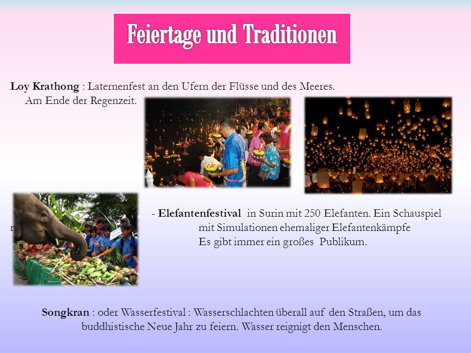 Feiertage und Traditionen