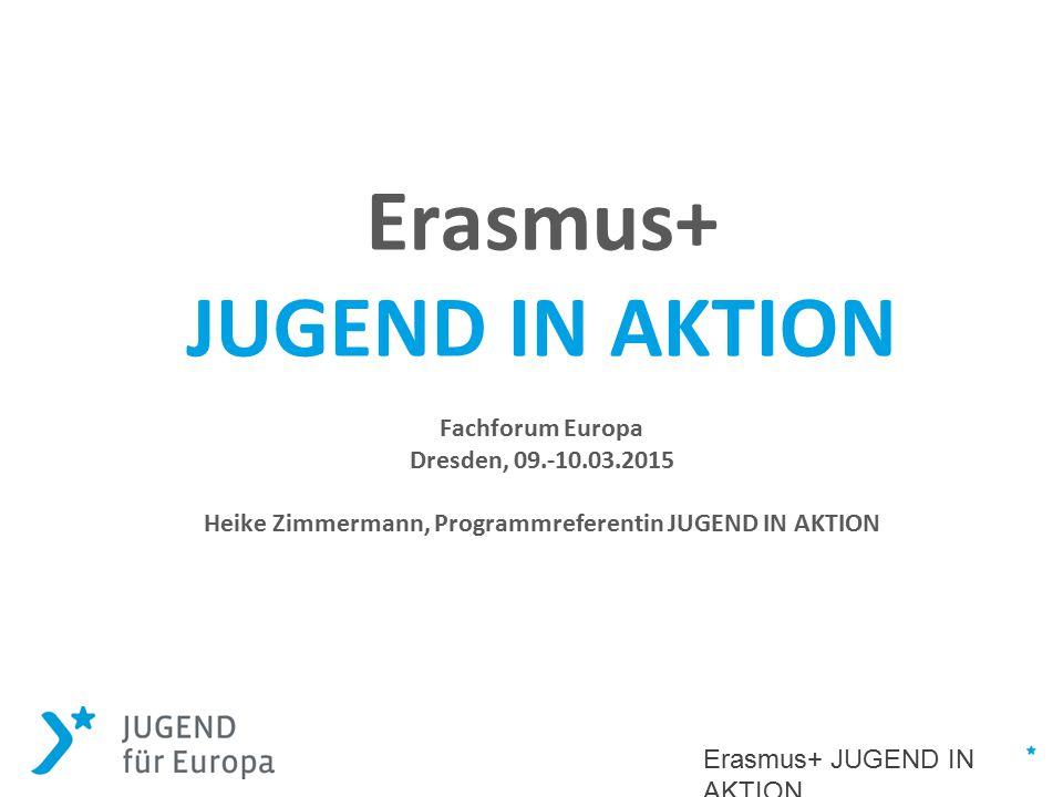Heike Zimmermann, Programmreferentin JUGEND IN AKTION