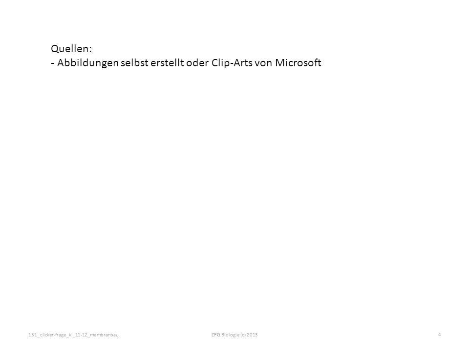 - Abbildungen selbst erstellt oder Clip-Arts von Microsoft