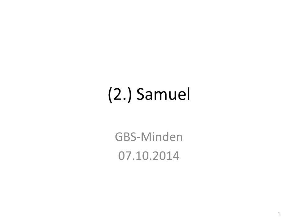 (2.) Samuel GBS-Minden 07.10.2014