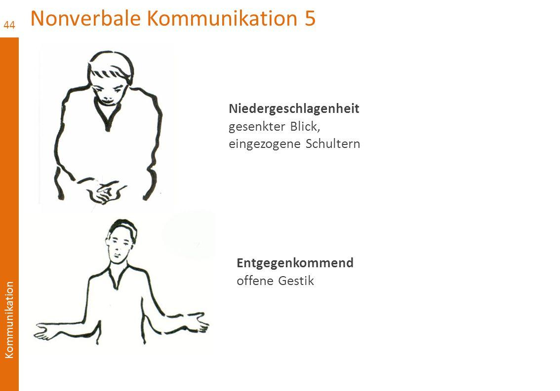Nonverbale Kommunikation 5