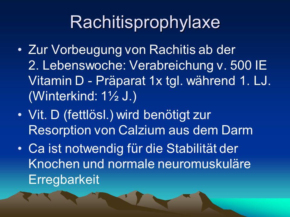 Rachitisprophylaxe