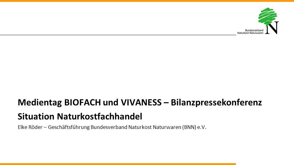 Medientag BIOFACH und VIVANESS – Bilanzpressekonferenz