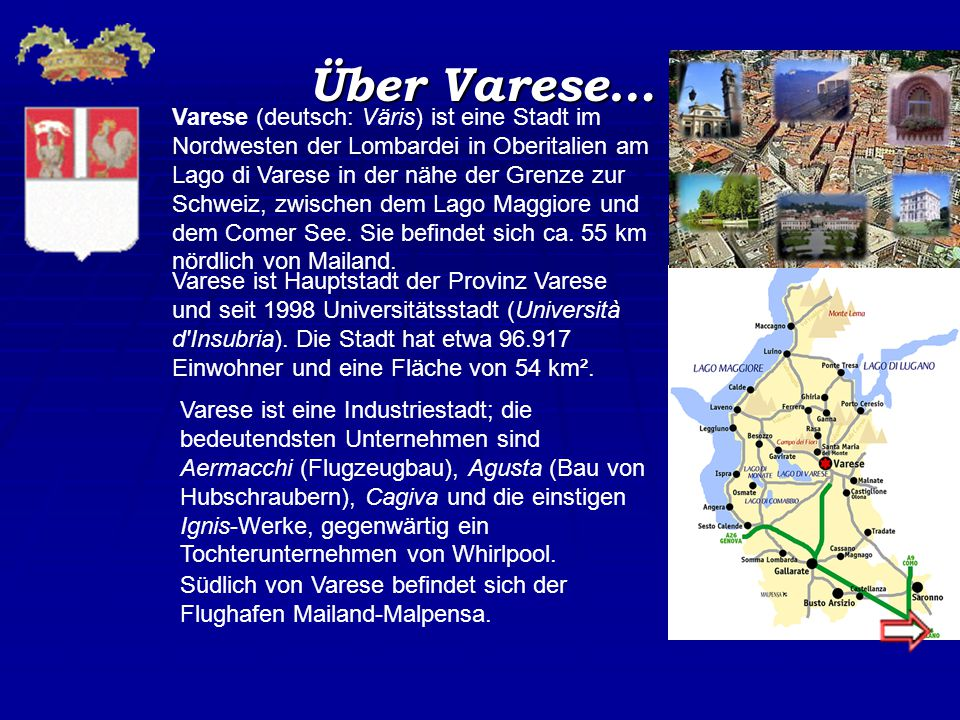 Über Varese…
