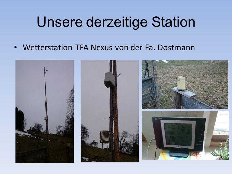 Unsere derzeitige Station