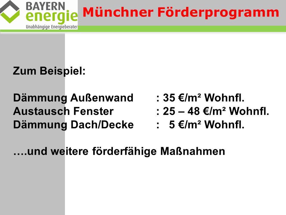 Münchner Förderprogramm