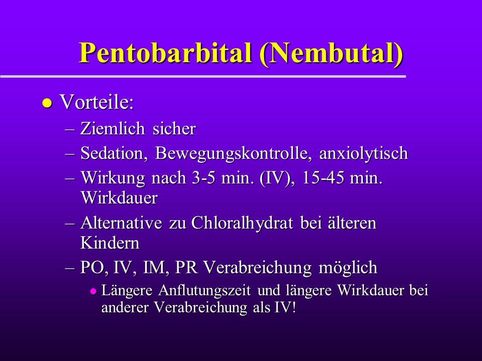 Pentobarbital (Nembutal)