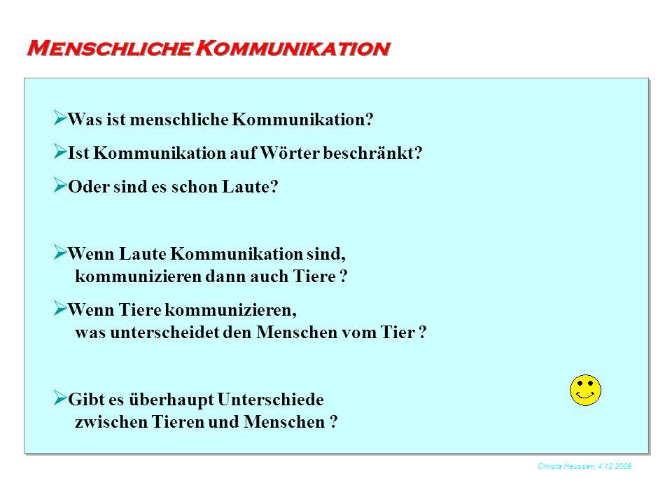 Menschliche Kommunikation