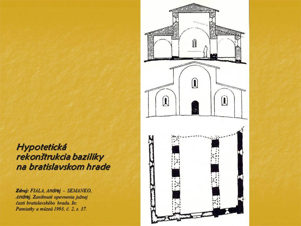Hypotetická rekonštrukcia baziliky na bratislavskom hrade