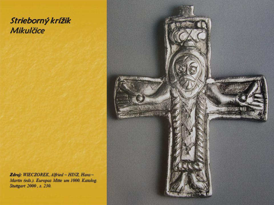 Strieborný krížik Mikulčice