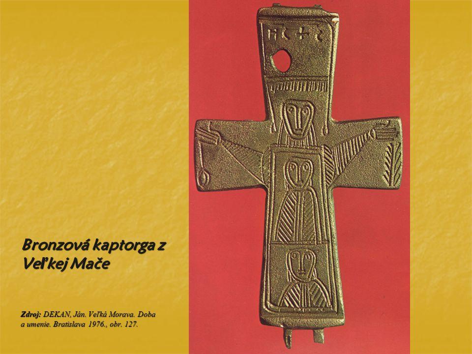 Bronzová kaptorga z Veľkej Mače