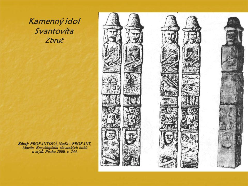 Kamenný idol Svantovíta Zbruč