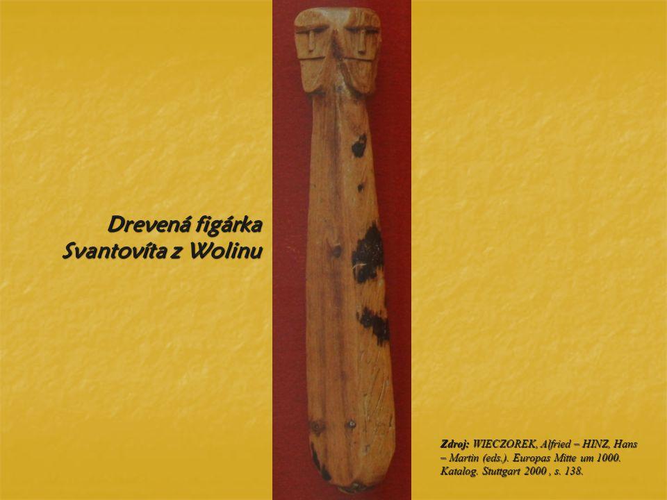 Drevená figárka Svantovíta z Wolinu