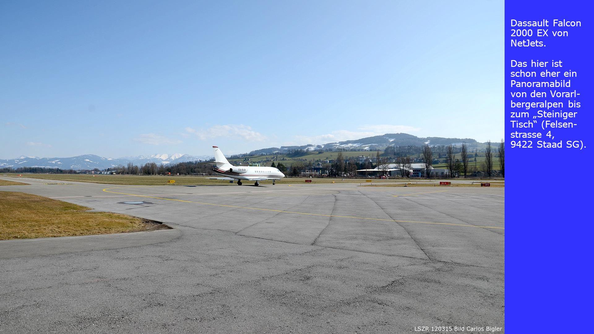 Dassault Falcon 2000 EX von NetJets