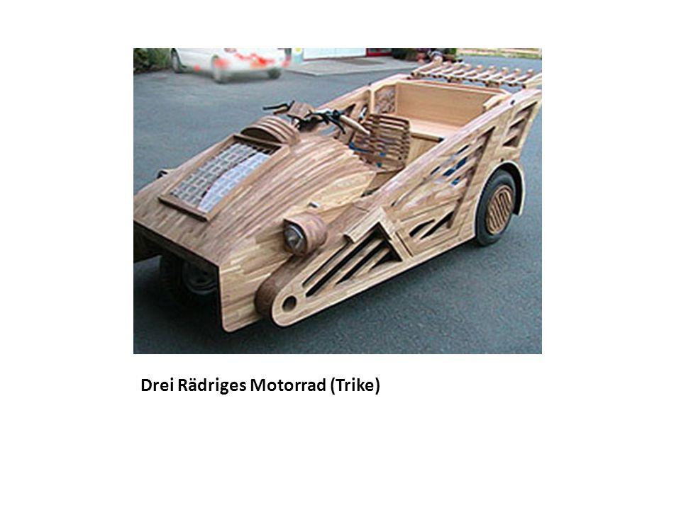 Drei Rädriges Motorrad (Trike)