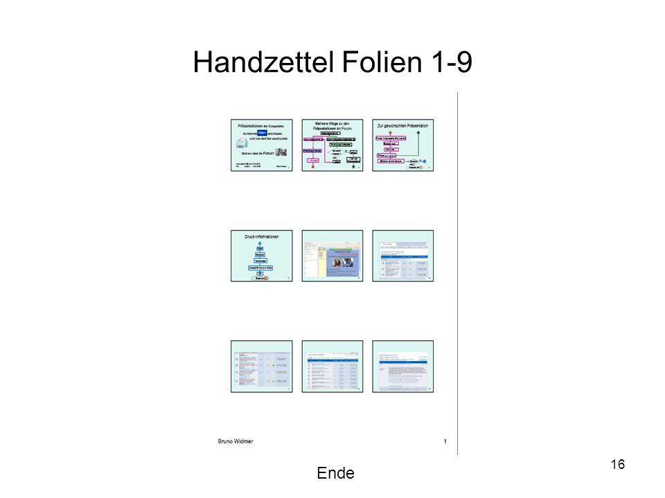 Handzettel Folien 1-9 Ende